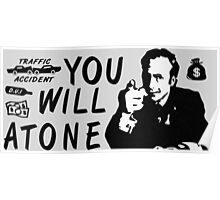 You Will Atone Poster
