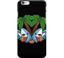 Left and right are in da house! -black- iPhone Case/Skin