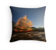 mad man out at night.. Throw Pillow