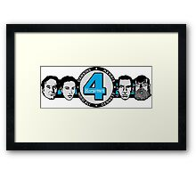 Four Horsemen Remix by Tai's Tees Framed Print
