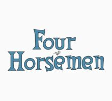 Four Horsemen Logo Remix by Tai's Tees Kids Clothes