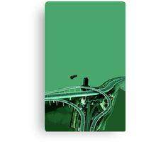 macau interchange Canvas Print