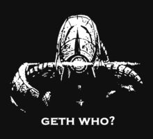 Geth Who by MrGreed