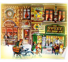 The old coffee house and sweet shop  Poster
