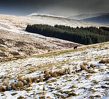 Welsh Winter in the Brecon Beacons by Heidi Stewart