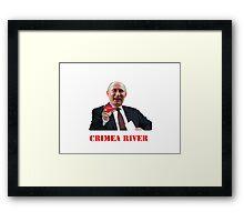 Crimea River Vladimir Putin Framed Print