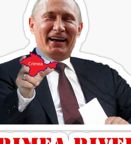 Crimea River Vladimir Putin Sticker