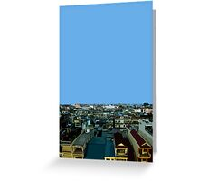 pnom penh view Greeting Card