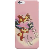 Hello Chip 'n' Dale iPhone Case/Skin