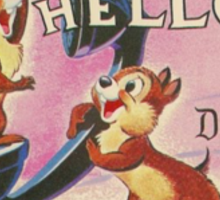 Hello Chip 'n' Dale Sticker