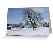 Watch Hill Winter 2015  WH Court Greeting Card