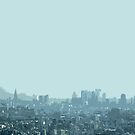 tokyo haze by Yuval Fogelson