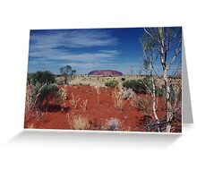 Ayres Rock Greeting Card