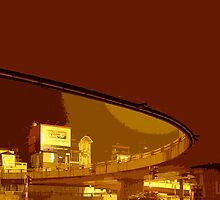 underbridge hanoi by Yuval Fogelson