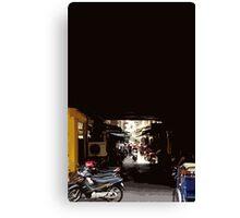 phnom penh alley Canvas Print