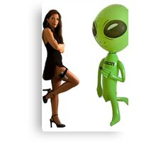 Mr. & Mrs Alien Canvas Print