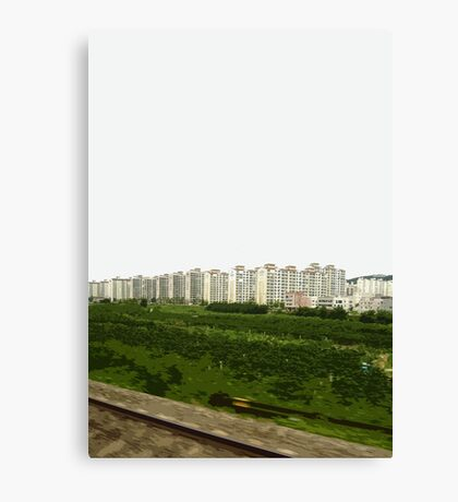 korean landscape Canvas Print
