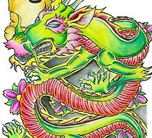 asian dragon 1 by collado144