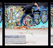 Nollie Heelflip by Graham Lea