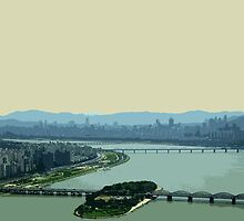 the river han by Yuval Fogelson