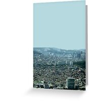 seoul flowing Greeting Card