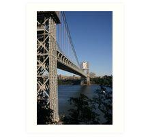 George Washington Bridge 2 Art Print