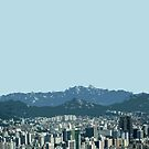 seoul view by Yuval Fogelson