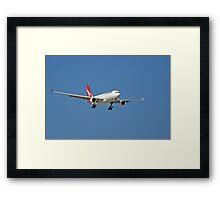Qantas A320 Airbus  Framed Print