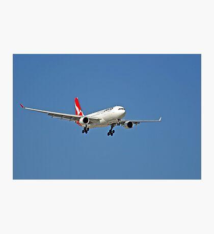 Qantas A320 Airbus  Photographic Print