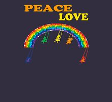 peace love children rainbow Unisex T-Shirt