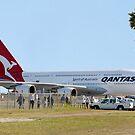 Qantas A380 At Perth Airport  by EOS20