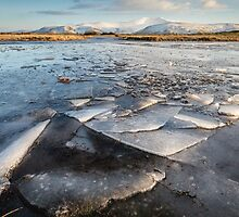 Ice Patterns in the Brecon Beacons by Heidi Stewart