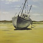 Beached in Bunbeg by Alan Hogan