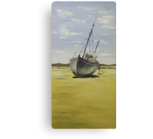 Beached in Bunbeg Canvas Print
