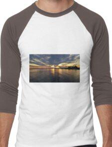 Sunset Reflections  Men's Baseball ¾ T-Shirt