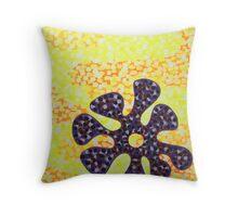 Flower for Rafa Throw Pillow