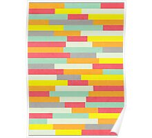 Stripy Stripes Poster