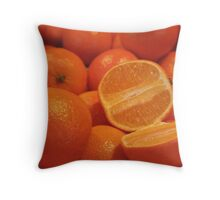 Sweet and Juicy Throw Pillow