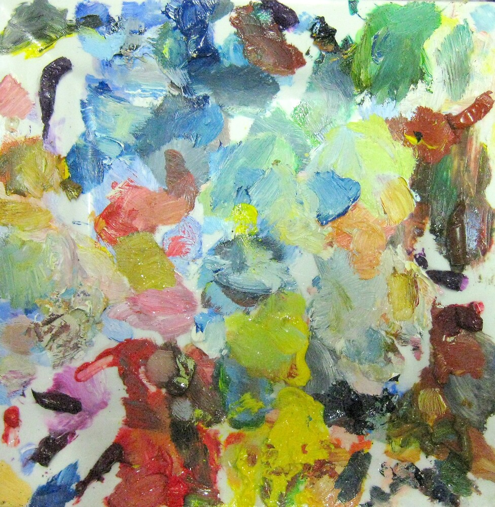 My paint palette by robyn nuttall