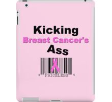 Kicking Breast Cancers A$$ iPad Case/Skin