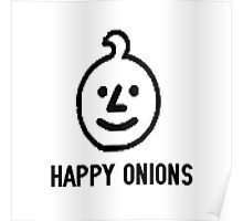 Happy Onions Poster