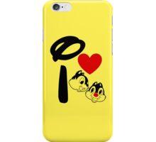 I Heart Chip 'n' Dale iPhone Case/Skin