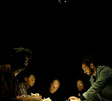 Boys of the round table.  by Leila  Koren