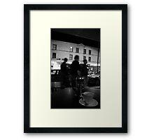 strip tea Framed Print