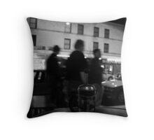 strip tea Throw Pillow