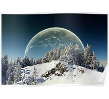 Surreal winter Poster