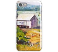 Barn and Pasture Scene iPhone Case/Skin