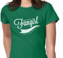Original Fangirl - Let's Talk About It Womens Fitted T-Shirt