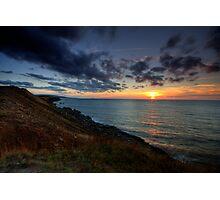 Cap Le Moine Sunset Photographic Print