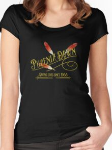Phoenix Down  Women's Fitted Scoop T-Shirt